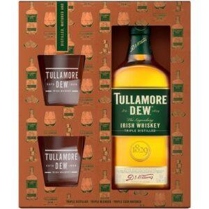 Tullamore Dew 2 рюмки 0.7L