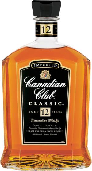 Canadian Club Classic 12 ye 1L