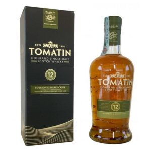 Tomatin 12YO Bourbon&Cherry Casks 1L