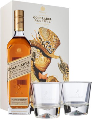 J. Walker Gold Reserve VAP (с двумя стаканами) 0.75L