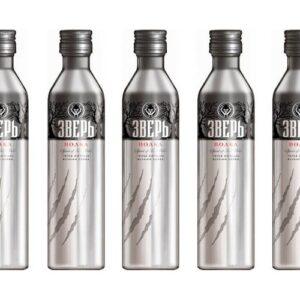 Зверь (Алюминиевая бутылка) 0.5L