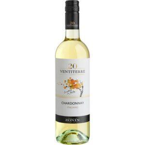 Zonin Chardonnay белое 0.75L