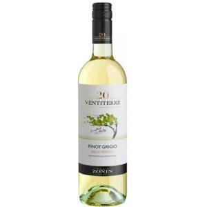 Zonin Pinot Gridgio белое п/сух. 0.75L