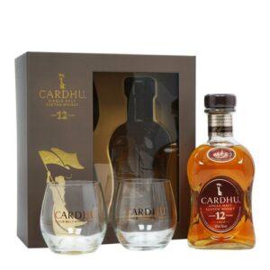 Cardhu Malt 12 YO VAP (с двумя стаканами) 0.7L